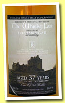 Lochnagar 37 yo 1972/2009 (50.7%, The Whisky Fair/Three Rivers, 126 bottles)